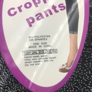 Pants - Lady Capri soft & Stretchy Denim Look